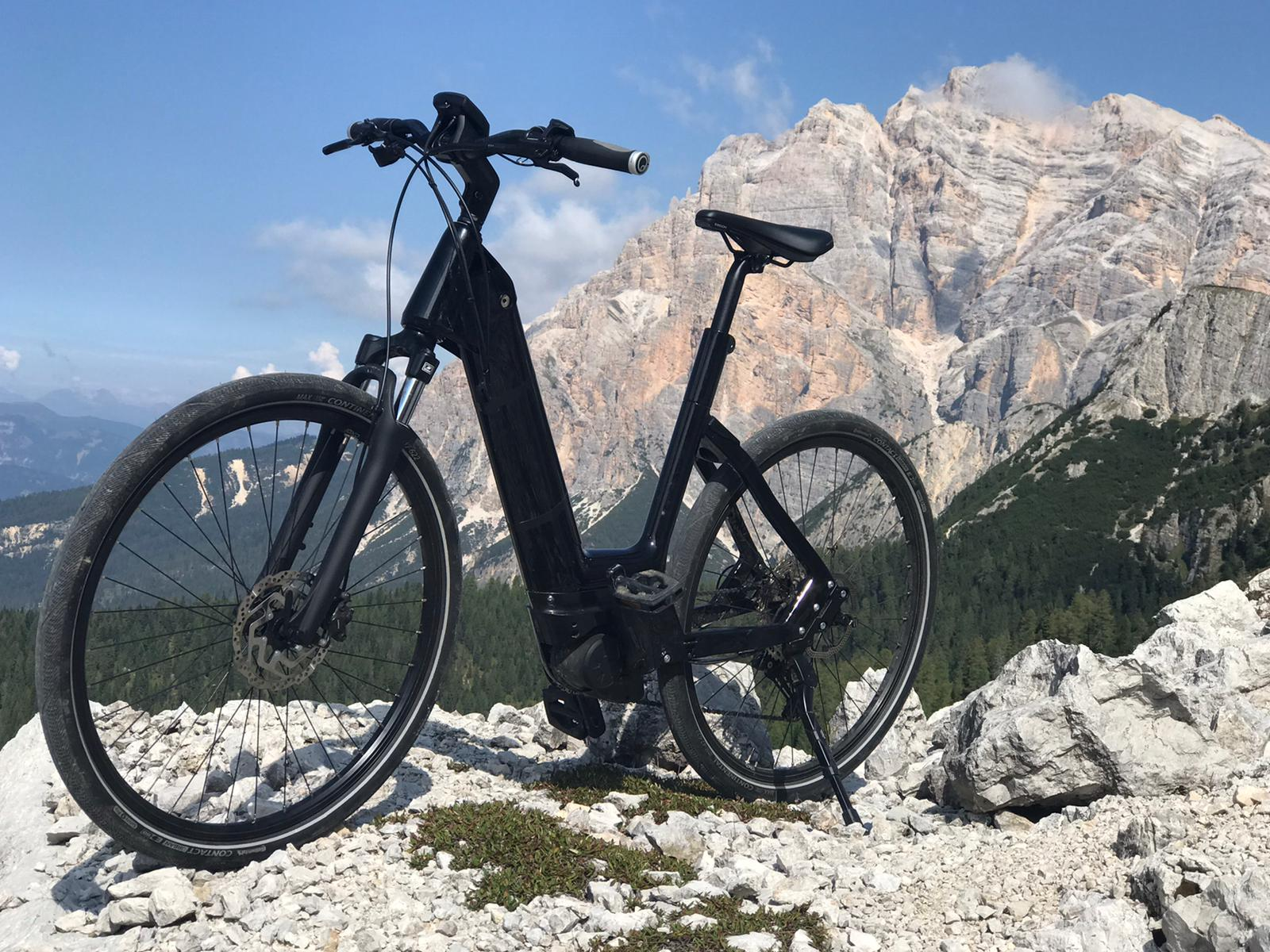 Test bicycle